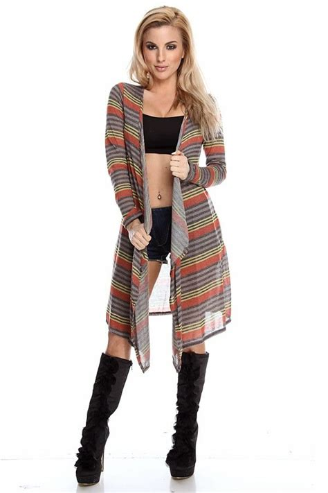8 Cardigans On The Cheap by Striped Cardigan Cardigan Strapped Cardigan Cheap