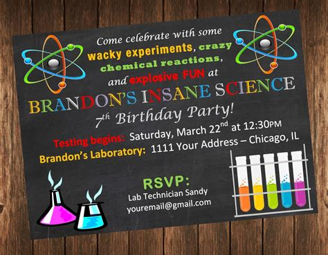 Invitation Card Sample For Science Exhibition Images   Invitation Sample And Invitation Design
