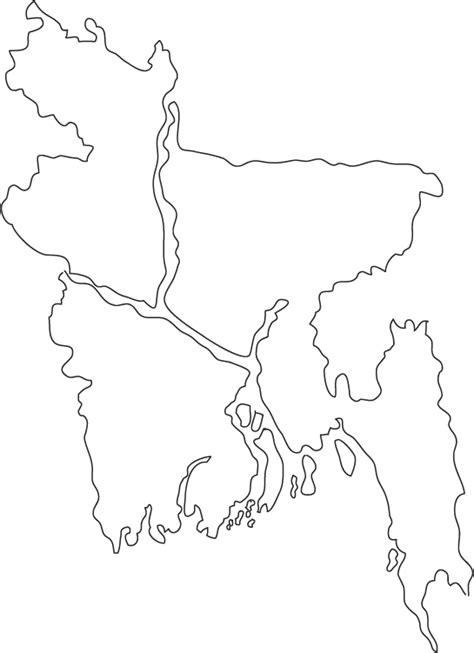 coloring page of bangladesh map bangladesh outline map