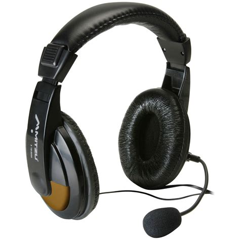 Headphone Usupso Deluxe Digital Multimedia Headset With Mic And Volume
