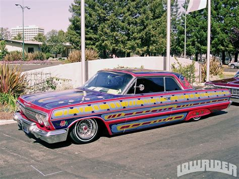 Handcrafted Cars - all my friends a low rider traffic
