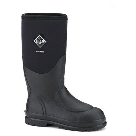s muck boots 15 quot chore steel toe met guard waterproof