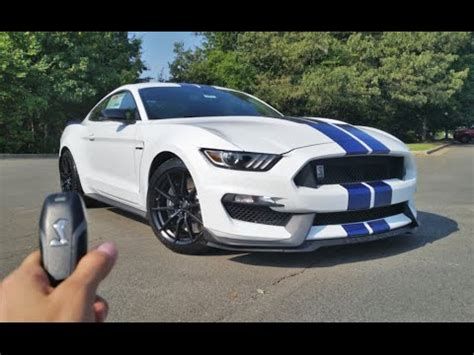 2017 ford mustang shelby gt350: start up, exhaust