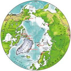 Map Of The World North Pole by 404 Not Found