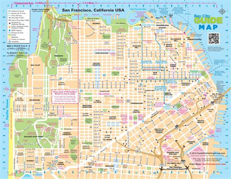 san francisco map streets of san francisco map images