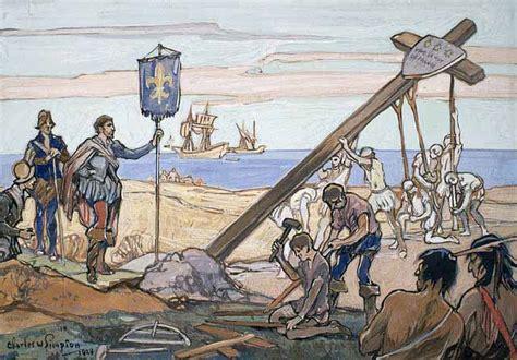 Nod Doctrine jacques cartier decouverte du canada 1er voyage 1534
