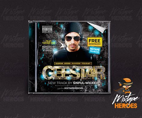 free mixtape templates 16 free hip hop mixtape cover psd images run