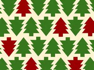 Christmas Tree Pattern PPT Backgrounds   Christmas, Green