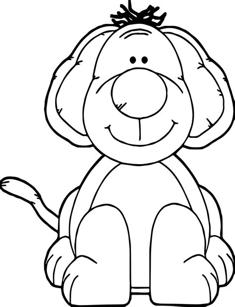 chubby puppies coloring pages chubby puppy dog coloring page wecoloringpage