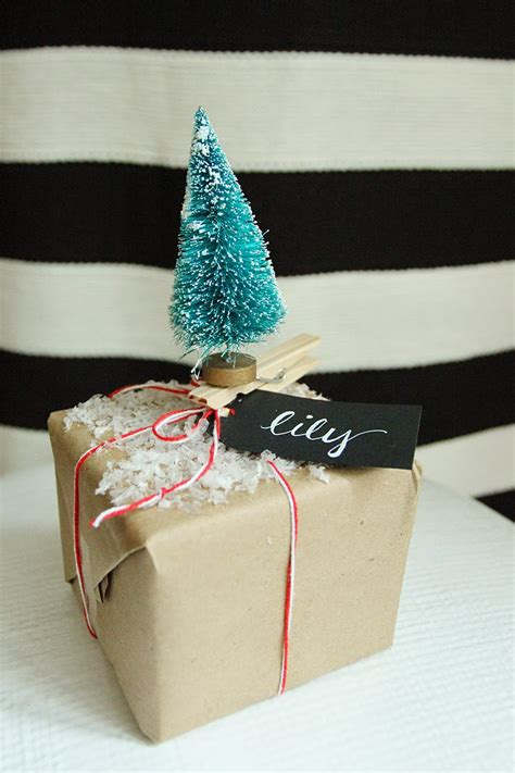 cheap gift wrap ideas brown paper packages up with string inexpensive