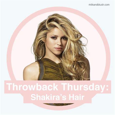 shakira extensions throwback thursday shakira s hair hair extensions blog