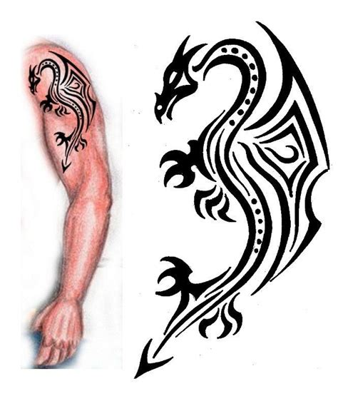 and black tribal aries on left forearm awesome black tribal on left half sleeve
