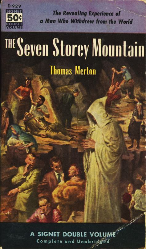 The Seven Storey Mountain Pulp Covers