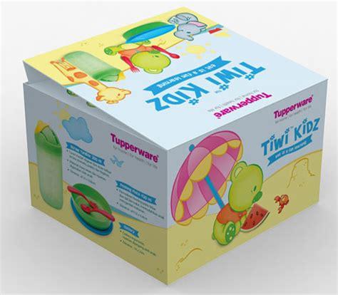 New Tiwi Kidz Set Tupperware creative clutters silke widjaksono