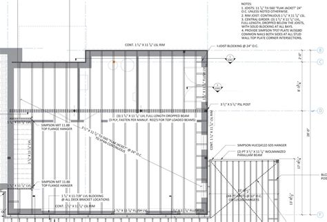 how to frame a floor floor framing design fine homebuilding