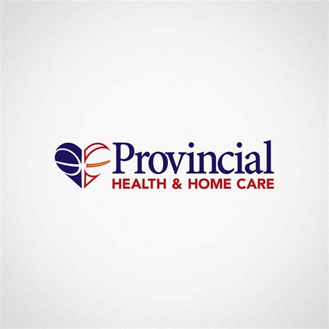 provincial health home care logo design troy templeman