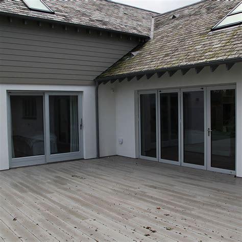 Patio Doors In Grey Porthclyn P S Counter Windows