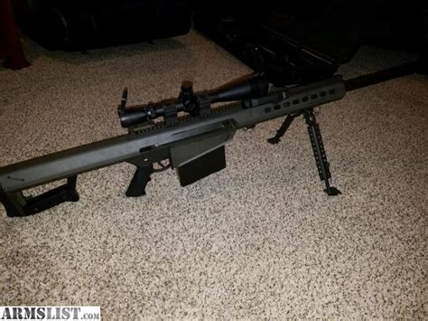 used 50 bmg for sale armslist for sale barrett 50 bmg m82a1 29 quot barrel