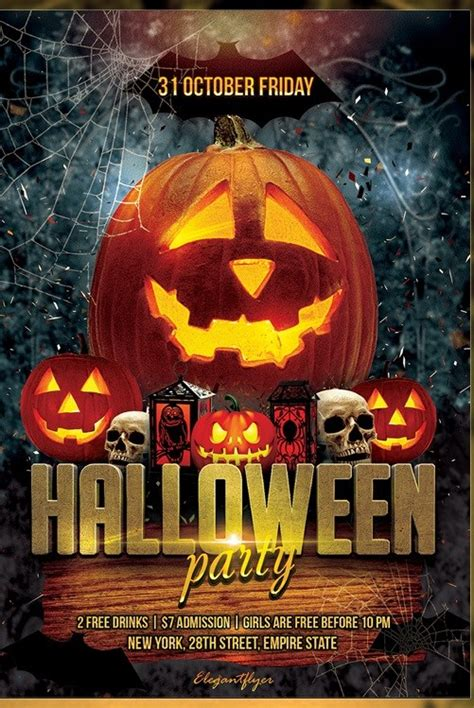 Free Templates For Halloween Flyers