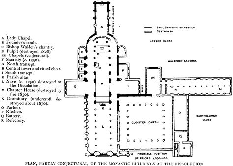 monastery floor plan monastery floor plan