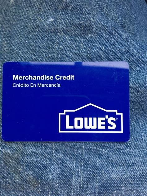 lowes credit card questions