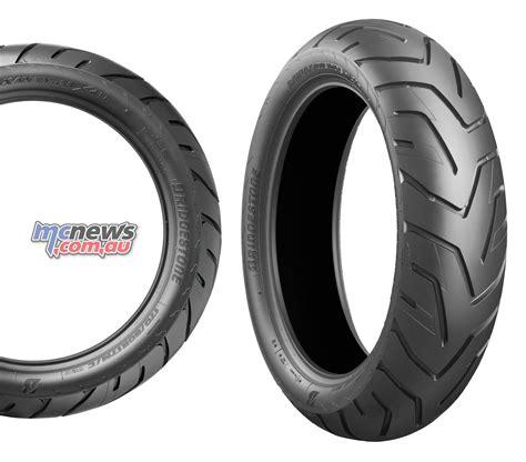 Motorradreifen Bridgestone by New Bridgestone Adventure Tyres Battlax A41 Mcnews Au