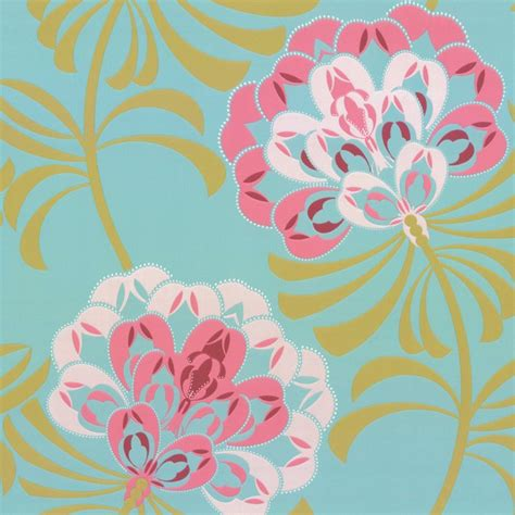 modern floral wallpaper wallpaper wednesday caselio modern and retro love