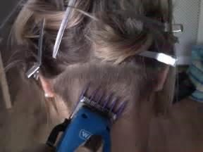 getting clipper haircuts ladies clipper cut stories dark brown hairs