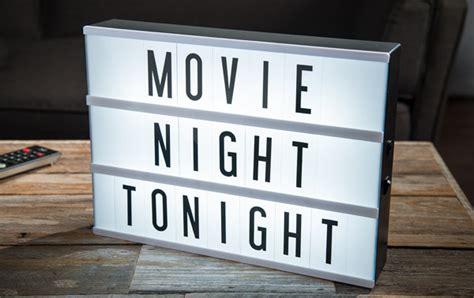 cinema box led light original cinema lightbox backlit marquee with