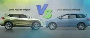 Compare Nissan Rogue And Nissan Murano Nissan Rogue Compared To Murano
