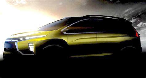 mitsubishi crossover 2016 mitsubishi mpv crossover concept teased gaadiwaadi com