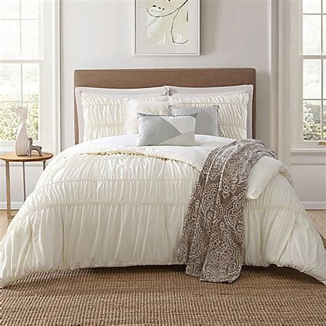 cream queen comforter sets jennifer adams home belovo 7 piece comforter set in cream