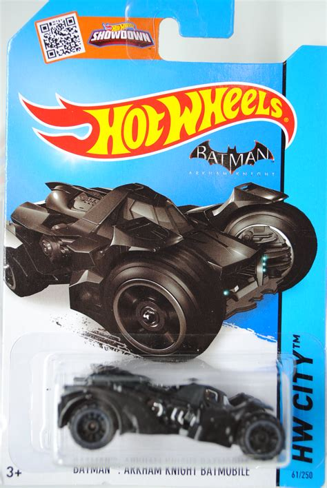 Batman Arkham Batmobile Hw City cfg82 batman arkham batmobile hw city