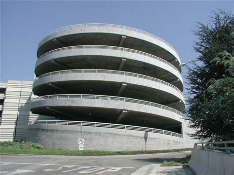 Universal Parking Garage by Jurassic Parking Garage And Spiral R Universal City