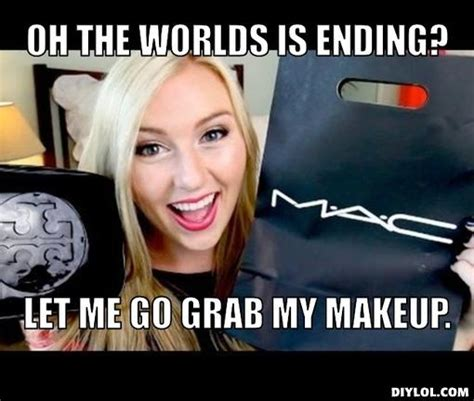 Meme Makeup - me without makeup meme mugeek vidalondon