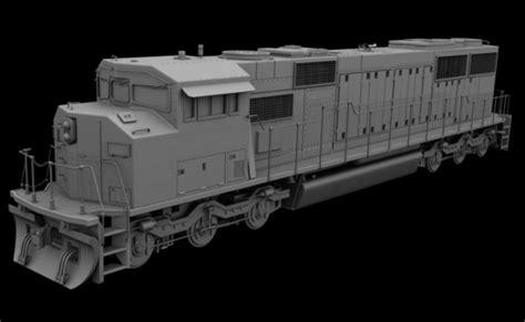 blender tutorial train model diesel locomotive blendernation