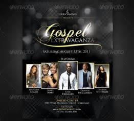 gospel flyer template 160 free and premium psd flyer design templates print