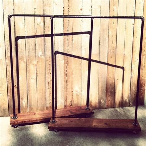 diy rolling clothes rack laundry