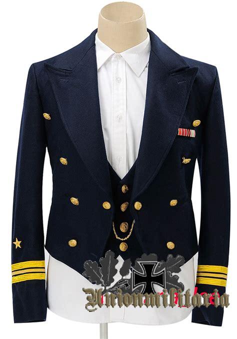 Best Quality Lusiana Tunic 1 high quality ww2 german kriegsmarine blue mess dress tunic