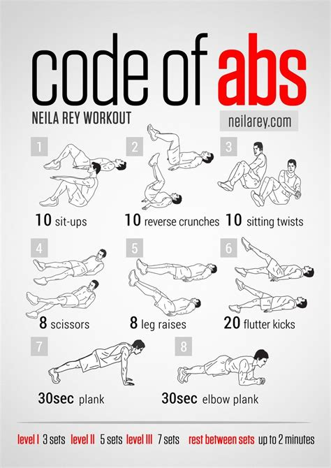 abdominals workout ab workout darbee workout neila workout
