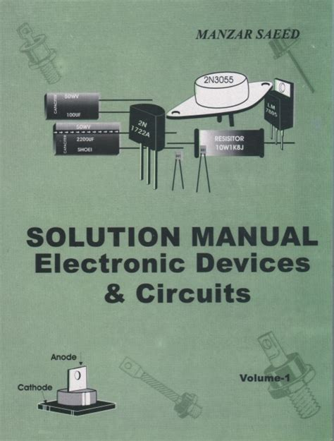 electronic devices circuits solution manual electronic devices circuits vol i prof