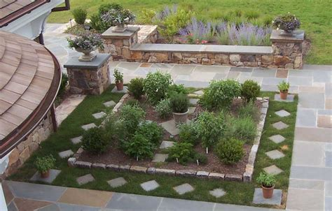 Patio Herb Garden Ideas Small Herb Garden Design Photograph Herb Garden