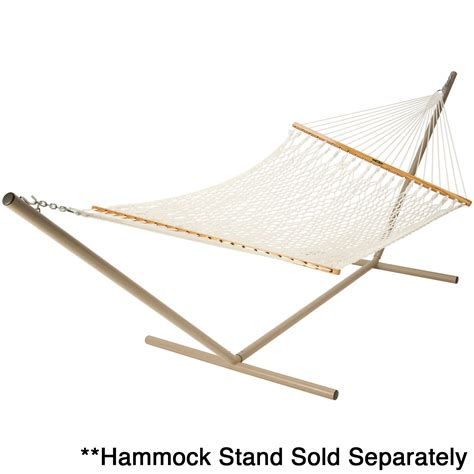 original single polyester rope hammock pawleys island