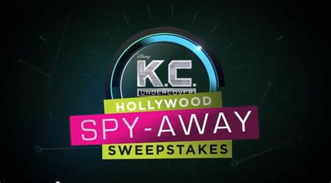 Www Disney Channel Com Sweepstakes - disney channel k c undercover hollywood spy away sweepstakes