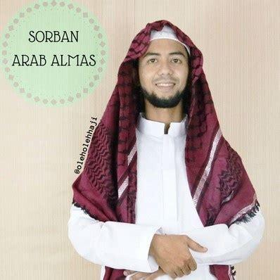 Sorban Putih Haji Arafat Sam05 sorban arab almas oleh oleh haji