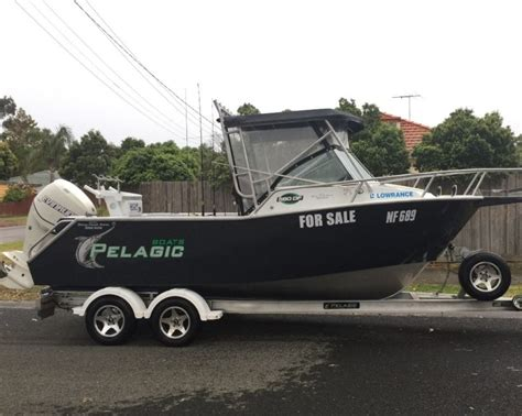 fishing boat kill tank pelagic 6 2m fishing boat aluminium hull 250hp etec