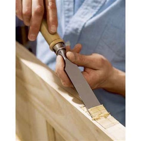Door Hinge Cut Out Tool by Chisel Out The Hinge Mortises How To Hang An Interior