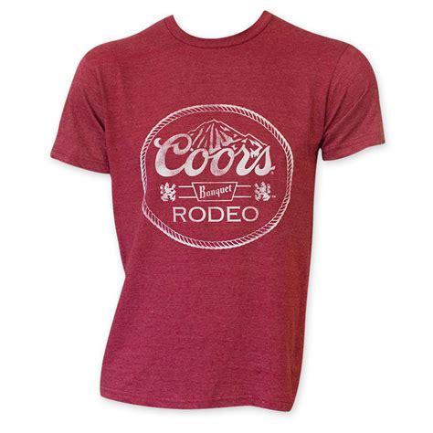 coors light t shirt amazon coors banquet rodeo red tee shirt