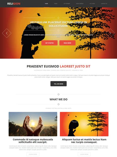 bootstrap templates for hindu temples hindu religion web template religion website templates