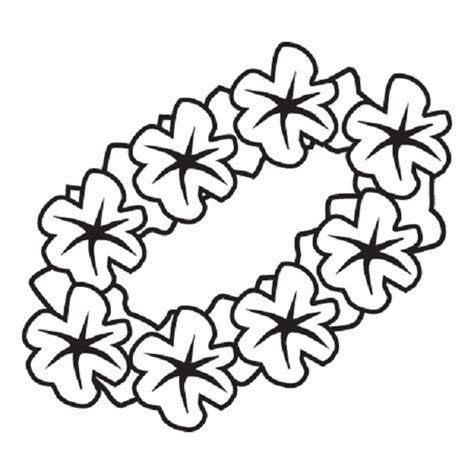 coloring pictures of hawaiian flowers hawaiian flower pages coloring pages